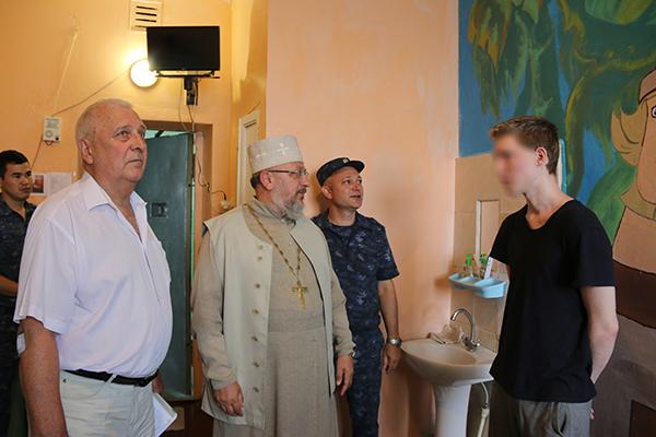 Члены региональной Общественной наблюдательной комиссии посетили следственный изолятор №2