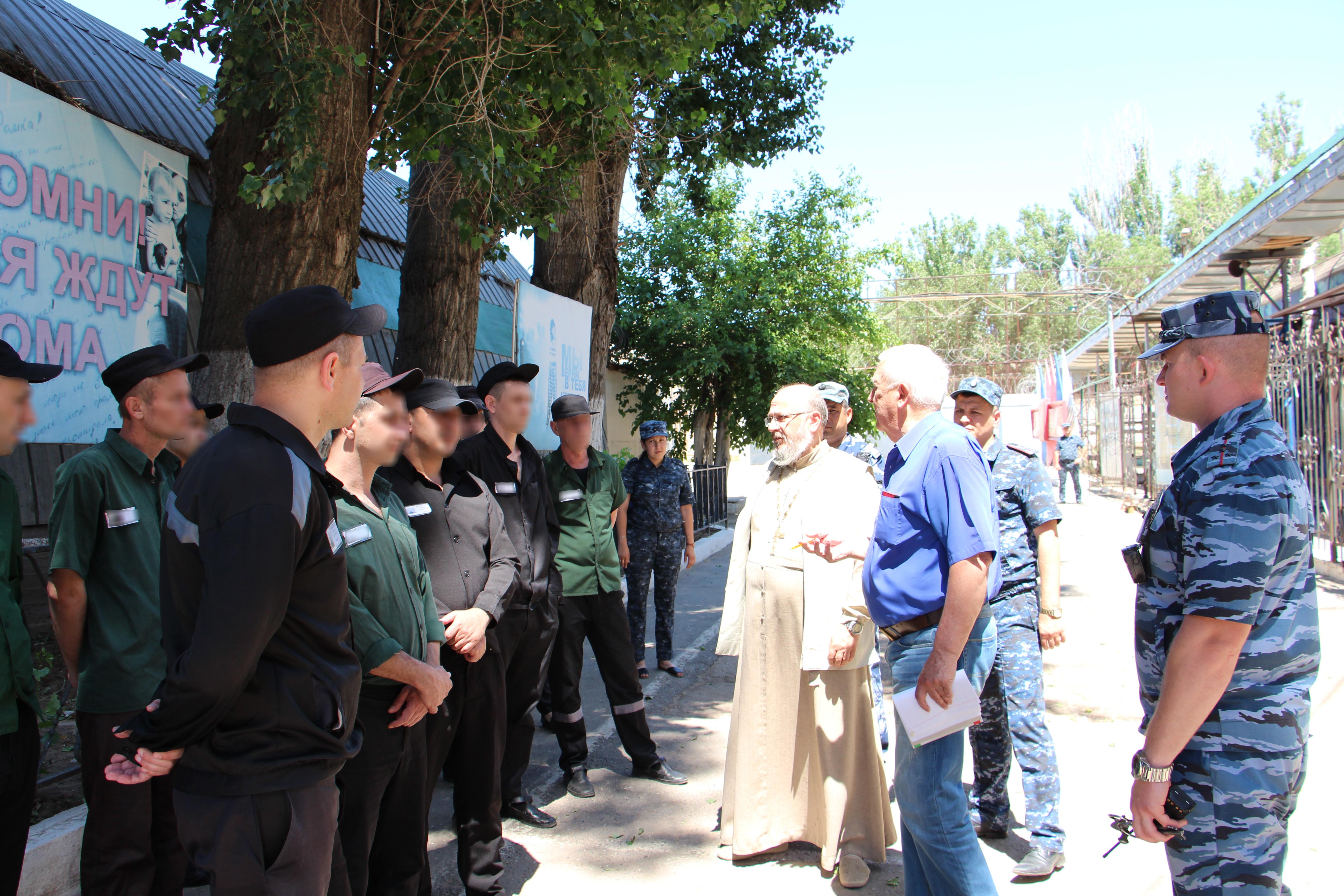 Представители региональной общественной наблюдательной комиссий посетили исправительную колонию №8