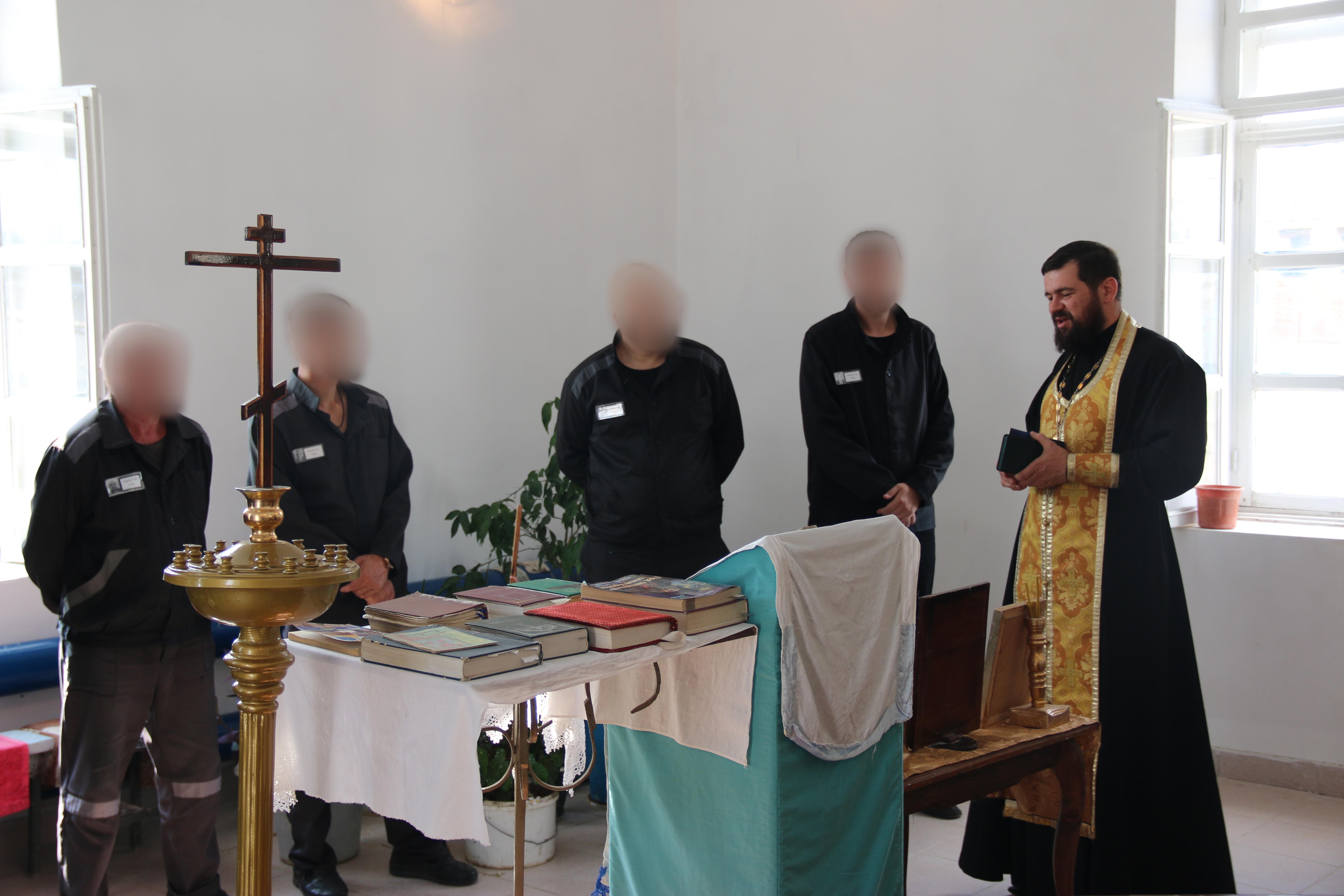 Праздник Рождества Пресвятой Богородицы встретили осужденные УФСИН России по Астраханской области.