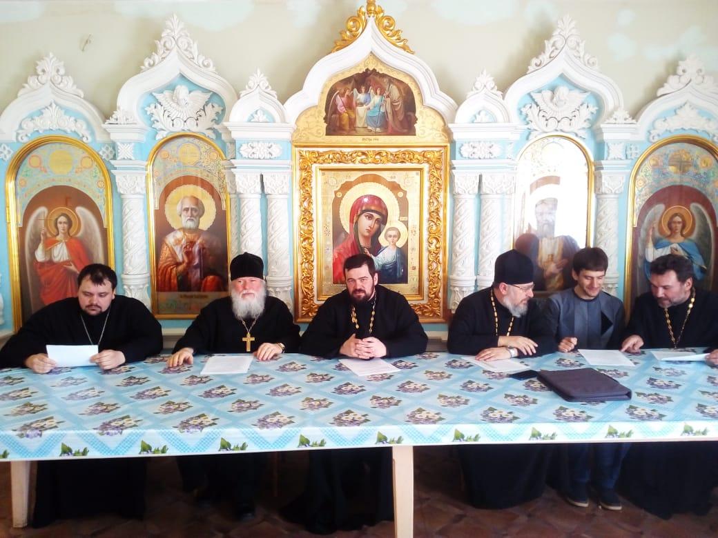 Помощником начальника УФСИН по работе с верующими проведено собрание с представителями духовенства